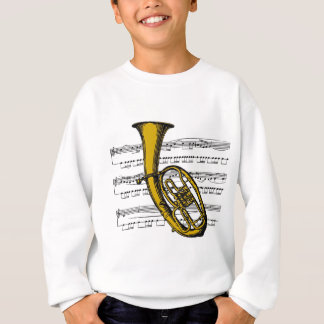 Tuba musical 04 B Sweatshirt