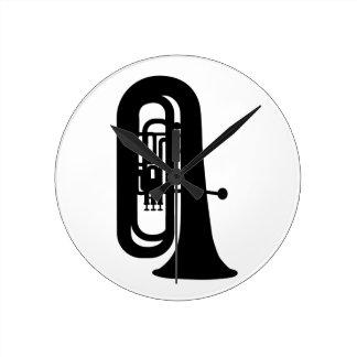 Tuba negra relojes