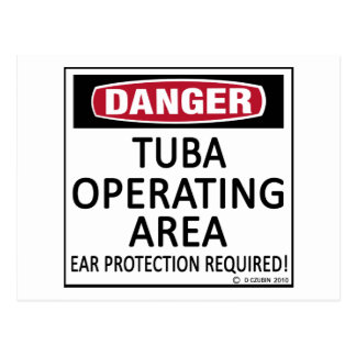 Tuba Operating Area Postcard