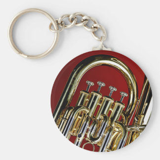 Tuba or Sousaphone Keychains for Band Musicians