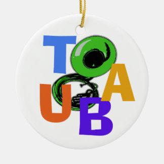 TUBA CHRISTMAS TREE ORNAMENT