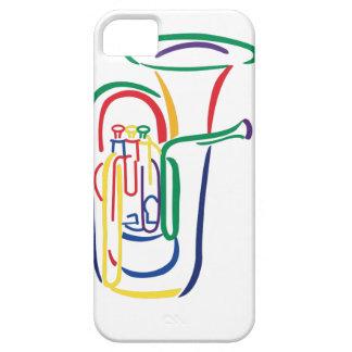 Tuba Outline iPhone SE/5/5s Case
