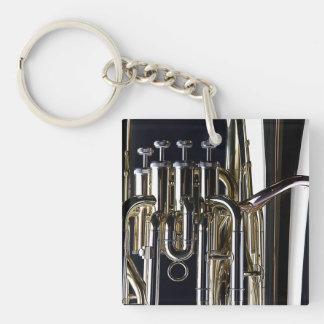 Tuba Photograph Image Keychain