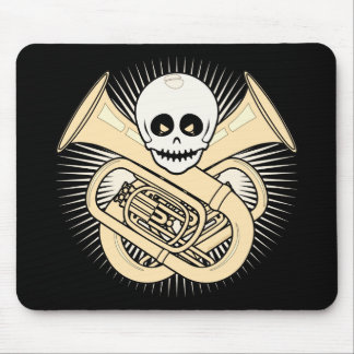 Tuba Pirate Mouse Pad