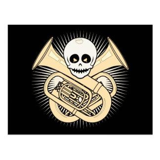 Tuba Pirate Postcard