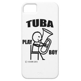 Tuba Play Boy iPhone SE/5/5s Case