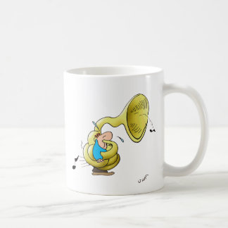 Tuba Player Coffee Mug