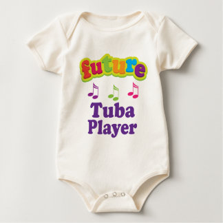Tuba Player (Future) Baby Bodysuit