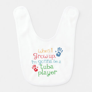 Tuba Player (Future) Child Bib