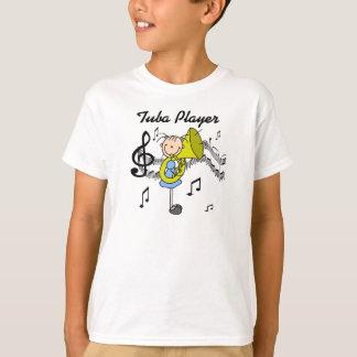 Tuba Player Stick Figure Shirt