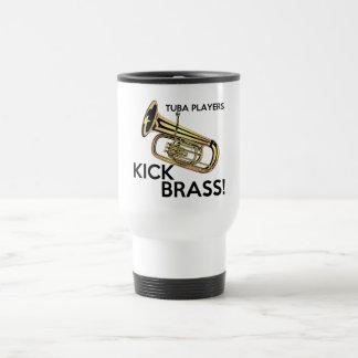Tuba Players Kick Brass Travel Mug