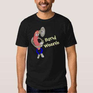 Tuba Playing Band Weenie Dark T-Shirt