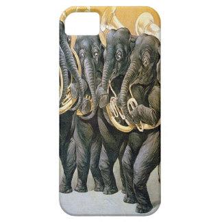 Tuba-Playing Elephants - Fun iphone 5/5s Case