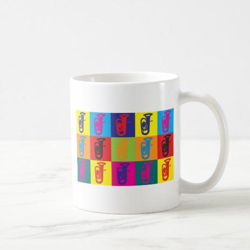 Tuba Pop Art Mugs