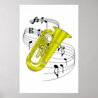 Tuba Print