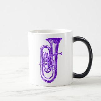 Tuba púrpura taza mágica