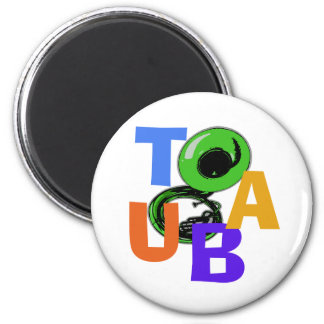 TUBA Scramble 2 Inch Round Magnet