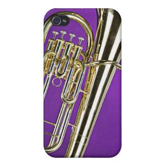 Tuba Sousa I para el músico de banda iPhone 4 Protector