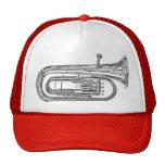 Tuba Sousaphone Cap or Truckers Hat