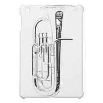 Tuba Sousaphone Ipad for Band Musician iPad Mini Case