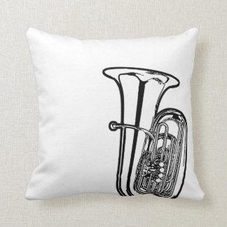 Tuba Sousaphone Reversible Pillow