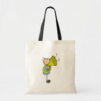 Tuba Stick Figure Bag