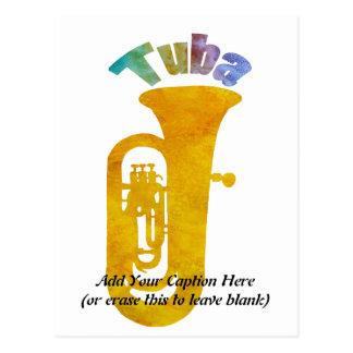 ¡Tuba! Tarjeta Postal