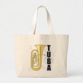 Tuba Tote Bag