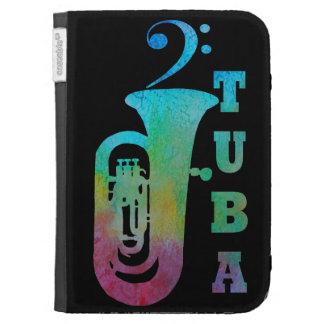 Tuba With Bass Clef Kindle 3 Covers