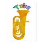 Tuba with Big Fat Sound Post Cards