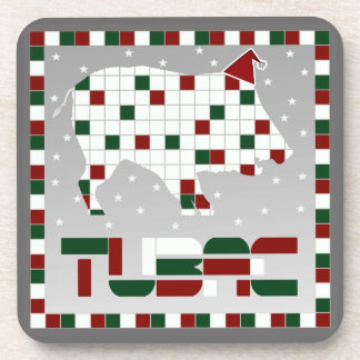 Tubac Christmas Javelina Cork Coaster Set