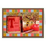 Tubac Corners  Mosaic Greeting Card