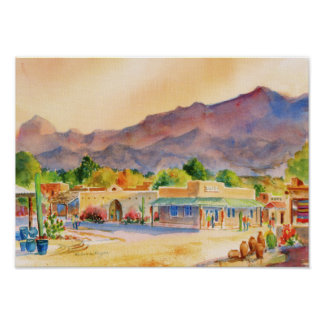 Tubac, Founded1752 Canvas Print