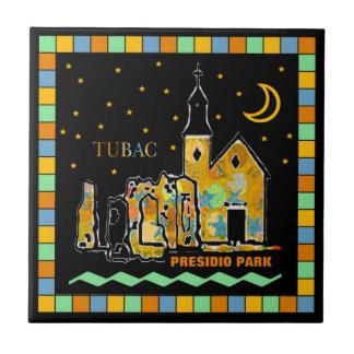 Tubac Presidio Park Mosaic Ceramic Tile