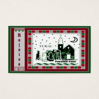 Tubac Presidio Park Mosaic Christmas Gift Tags