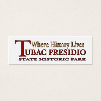 Tubac Presidio Park small bookmark Mini Business Card