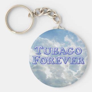 Tubago para siempre - básico llavero redondo tipo pin