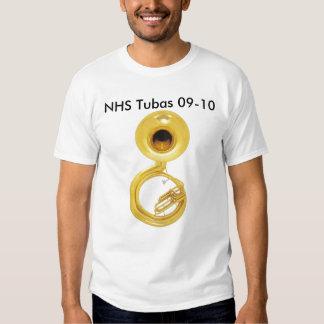 Tubas 09 t-shirts
