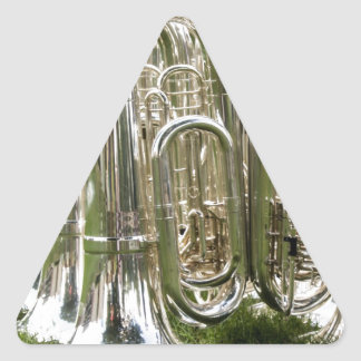 Tubas Triangle Sticker