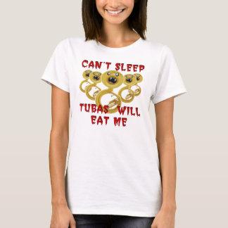 Tubas Will Eat Me Tee Shirt