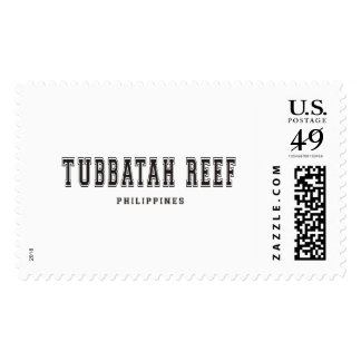 Tubbatah Reef Philippines Postage