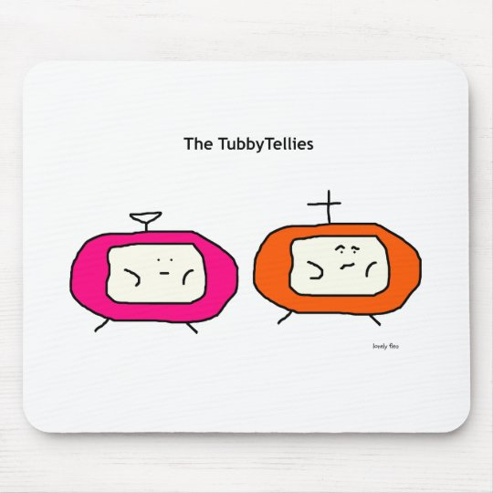 TubbyTellies Mousemat Mouse Pad