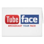 Tube Face friend card