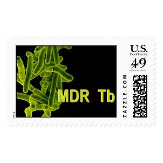 Tuberculosis de MDR Timbre Postal
