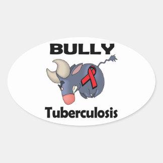 Tuberculosis del matón calcomanía de ovaladas