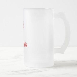 Tuberculosis 16 Oz Frosted Glass Beer Mug