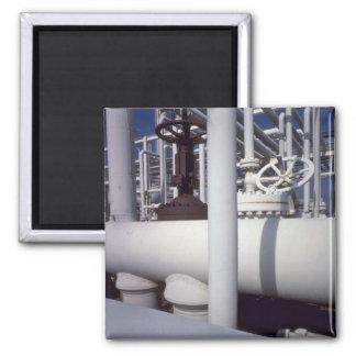 Tubería de la refinería de petróleo imán cuadrado