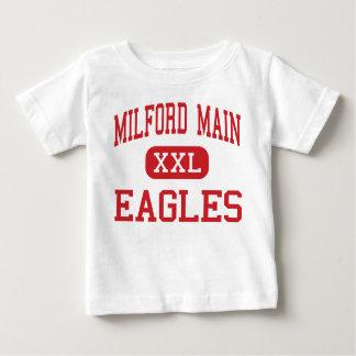 Tubería de Milford - Eagles - centro - Milford Tee Shirt