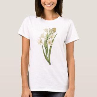 tuberose(Tuberosa sp.) by Redouté T-Shirt