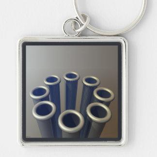 Tubes Keychain